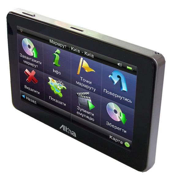 Лучший автомобильный GPS навигатор на базе Android 4 Altina A5029 (Ice Cream Sandwich)